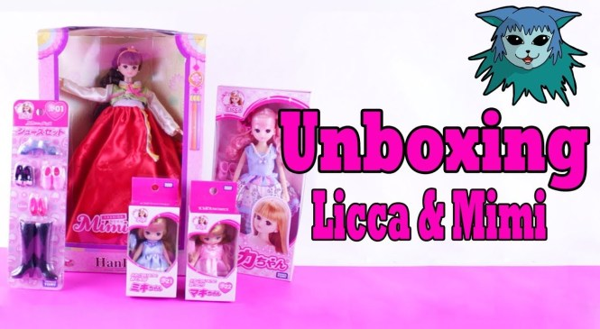 Unboxing: licca chan and Mimiworld Hanbok Fashion doll Review