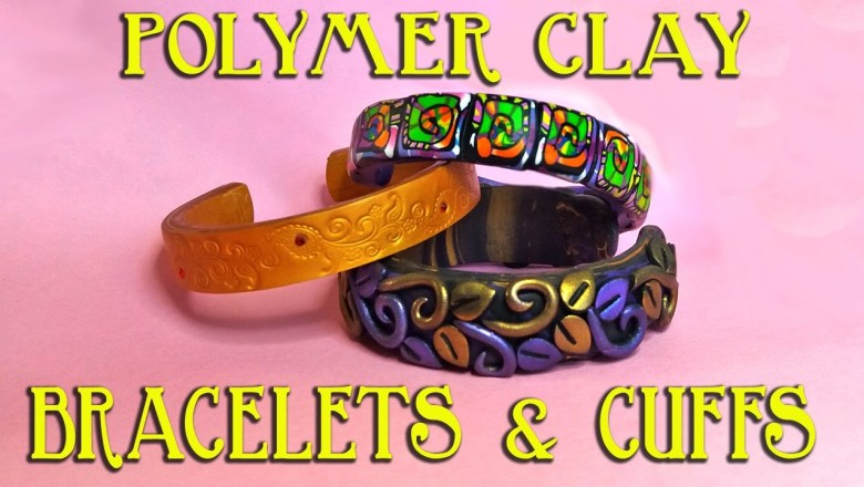 Polymer Clay Bracelets Tutorial (plus EasyCuffs Product Review)