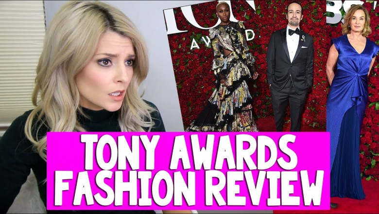 TONY AWARDS FASHION REVIEW // Grace Helbig