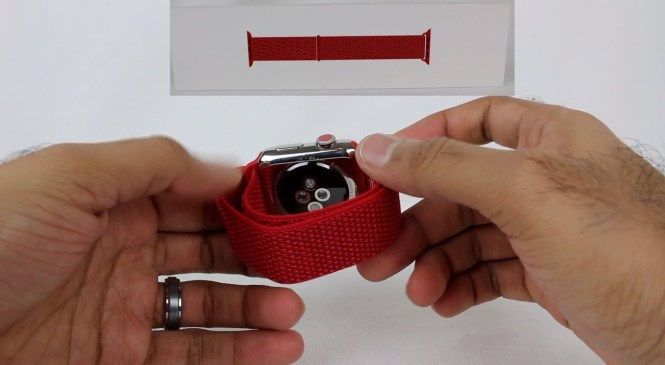 Apple Watch 44mm (PRODUCT)RED Sport Loop Unboxing!