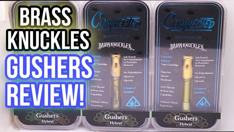 LIMITED Brass Knuckles x COOKIES CONNECTED – GUSHERS Cartridge (PRODUCT REVIEW)   EDWIN SPARKS