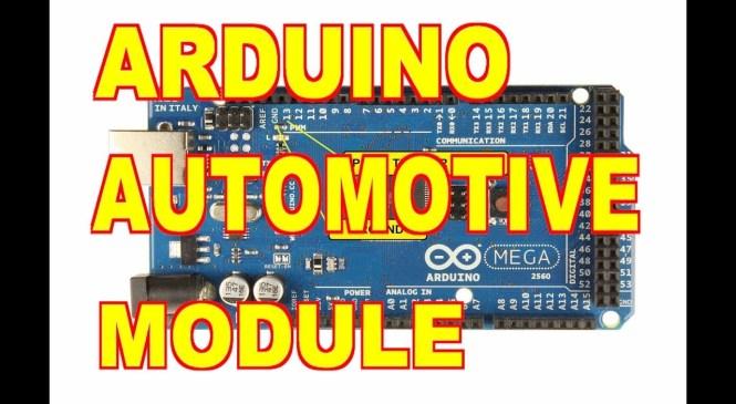 Arduino Automotive Module FAN Control 1