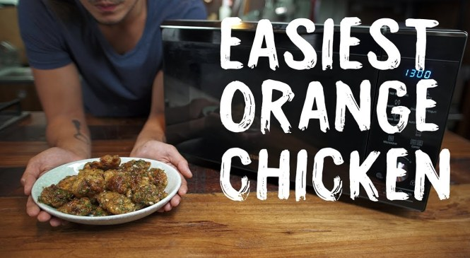 Orange Fried Chicken Recipe (Samsung Smart Oven Product Review)