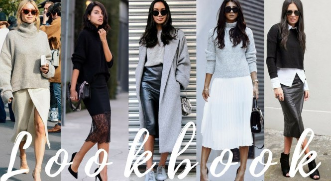 Fall 2017 & Winter 2018 Fashion Trends – Sweaters Worn With Skirts