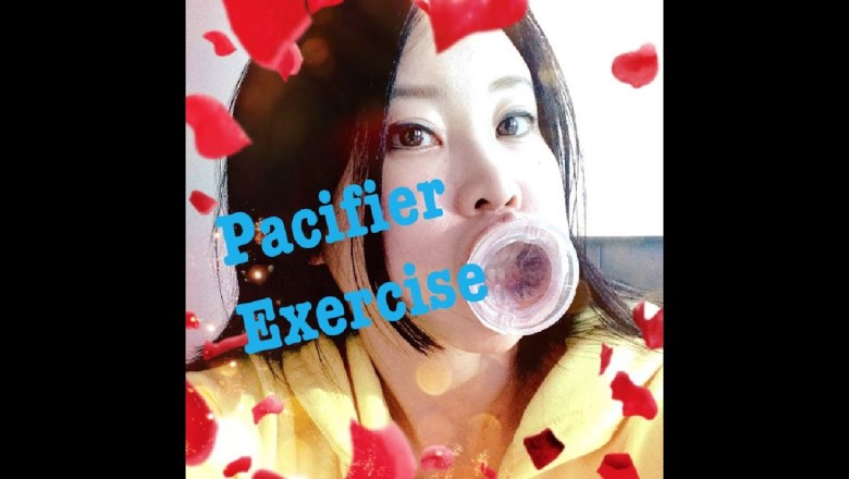 Pacifier Exercise for wrinkle free face, Japanese anti-aging tip