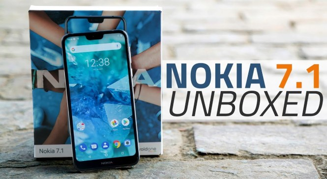 Nokia 7.1 Unboxing and First Look   Price, Camera, Specs, and More