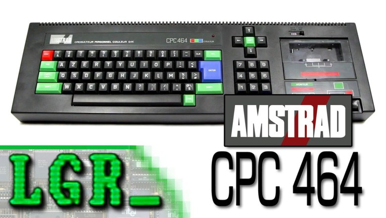 LGR – Amstrad CPC 464 Computer System Review