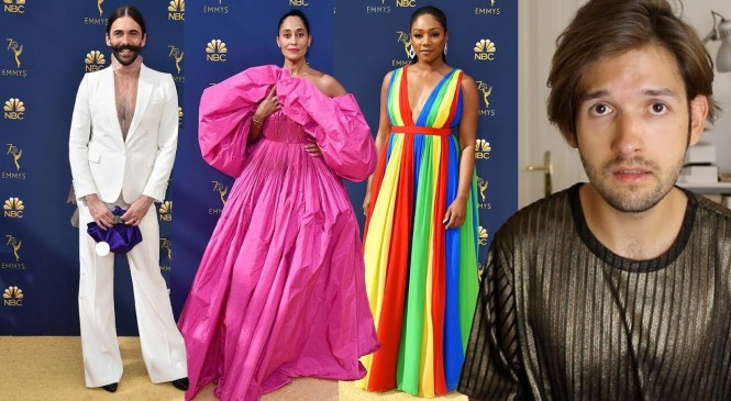 2018 Emmys Fashion Review | Michael Buchinger