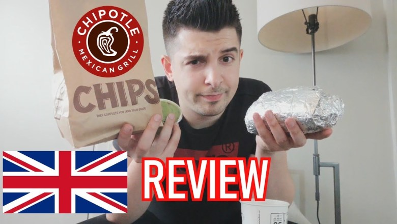 Is Chipotle as good as the Americans say? | USA Food Review