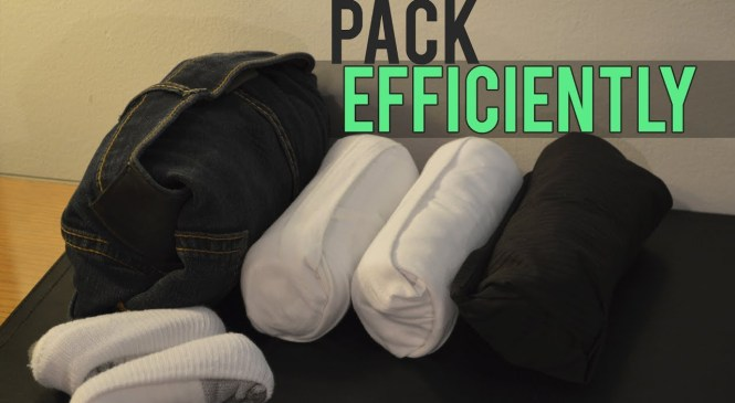 How to Pack Clothes for Traveling 👕💼