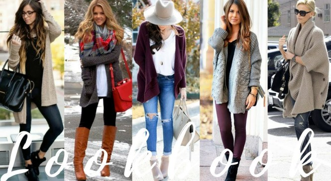Cute Ways To Style Cardigans |  Winter 2018 Fashion Trends