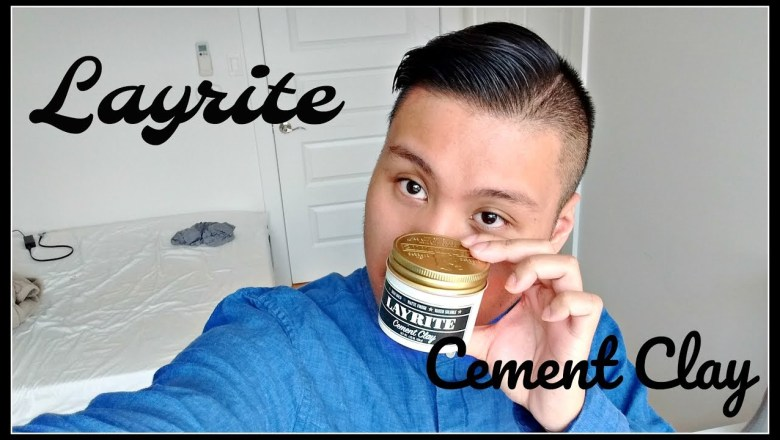LAYRITE CEMENT CLAY | Hair Product Review | ANTON