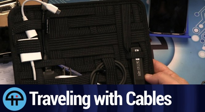 Managing Cables While Traveling