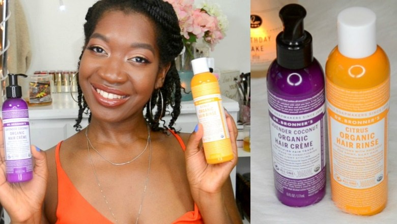 Dr Bronner's Hair Product Review – Moisturize Dry Natural Hair, How To Clarify Natural Hair, 4c Hair