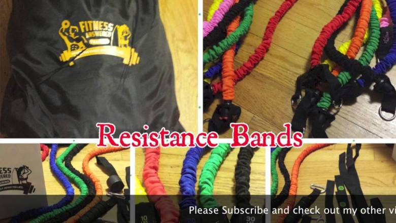 FITNESS ANSWERED-RESISTANCE BANDS  Product Review