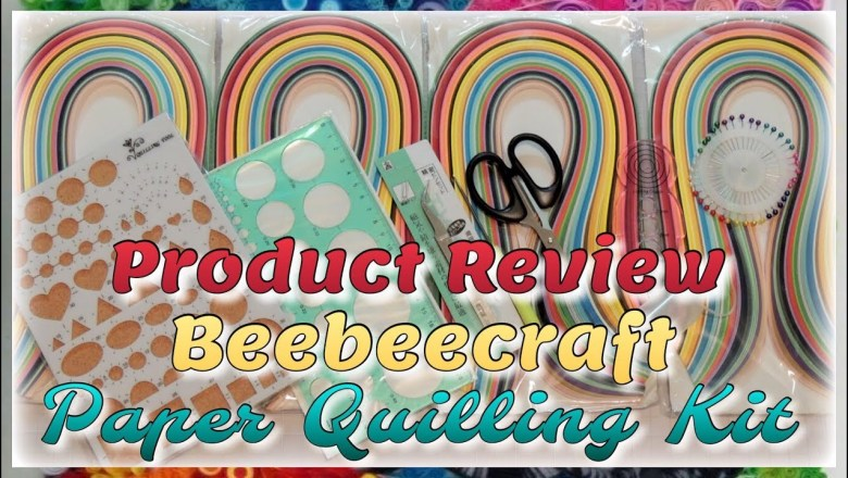 Product Review ~ Beebeecraft Paper Quilling Kit