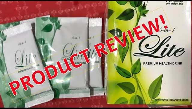 16 IN 1 LITE HEALTH DRINK REVIEW / 17 April 2018