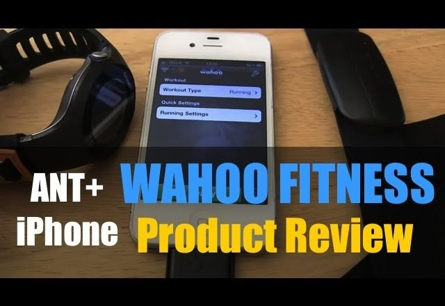 Wahoo Fitness iPhone ANT+ Adapter Product Review