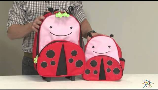 Skip Hop Zoo 3-Piece Travel Set – Lady Bug – Product Review Video