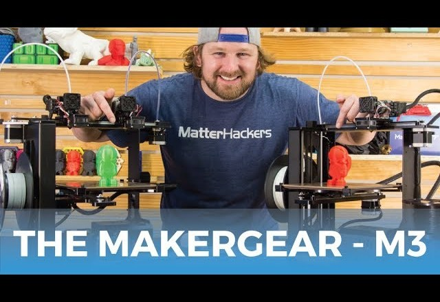 MakerGear M3 3D Printers // Product Review & Highlights