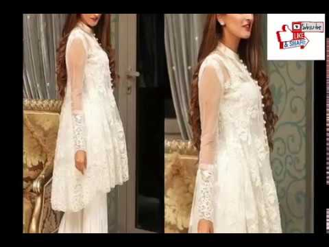 New fashion trend 2018 Pakistani Dresses design for girls/women's……