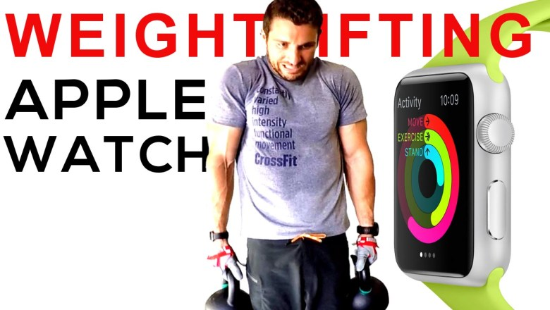Apple Watch REVIEW // Weightlifting!!