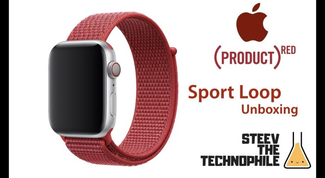 Unboxing  (PRODUCT) RED Sport Loop