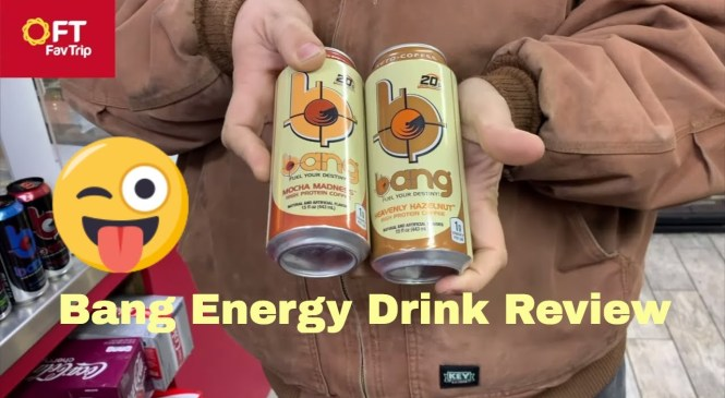 Bang Energy Starbucks and Amp Dew Drink  Review