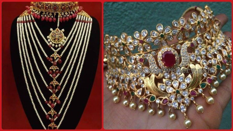 Latest Gold Necklace Designs 2019// Latest Gold Fashion Trend