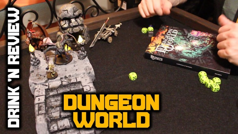 Drink n' Review: Dungeon World