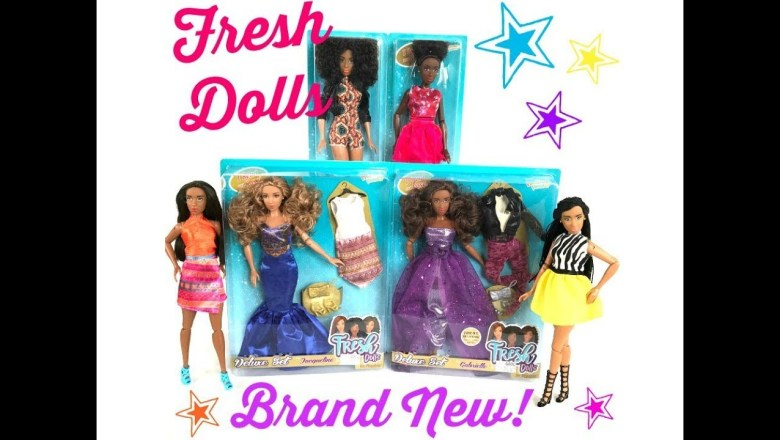 Brand New! Fresh Dolls – Urban Style and Fabulous Fashion Dolls – Doll Review