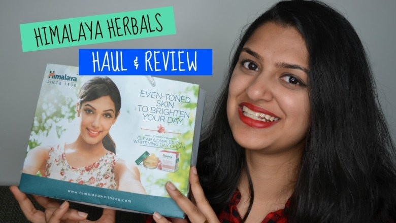 Himalaya Herbals Haul + Product Review!