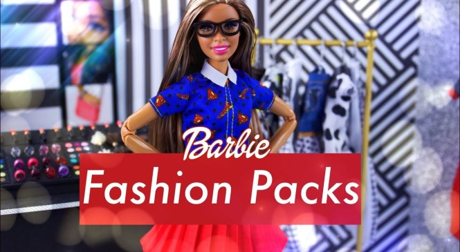Unbox Daily: Barbie DC Fashion Packs | ALL NEW Superhero Fashion & Accessories