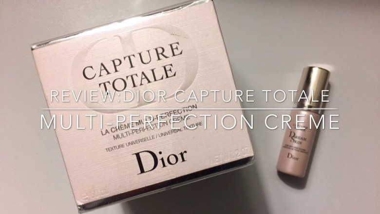 DIOR CAPTURE TOTALE MULTI PERFECTION CREME//PRODUCT REVIEW//MORGANKRISTINE