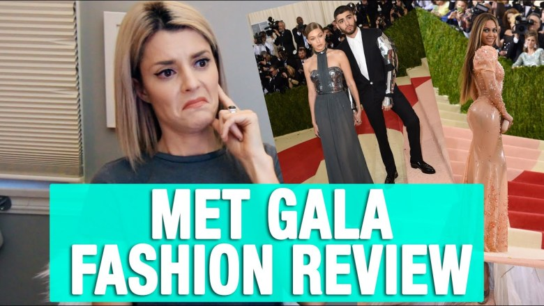 MET GALA FASHION REVIEW // Grace Helbig