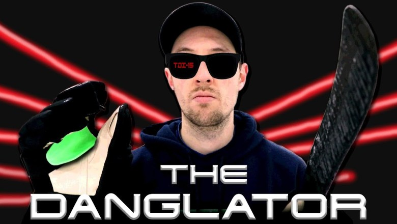 Dangling my HATERS with 'The Danglator' | Hockey Product Review