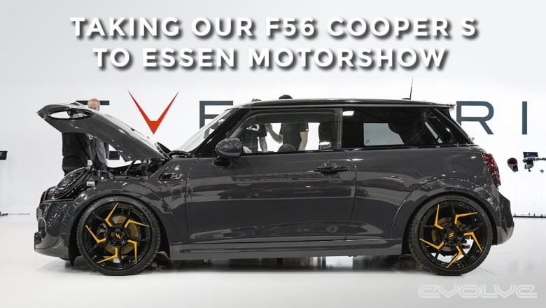 Taking our F56 Cooper S to Essen Motor Show 2018