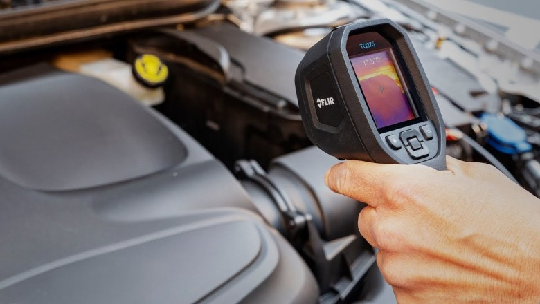 Hands-on with the FLIR TG275 Thermal Camera for Automotive at CES 2019