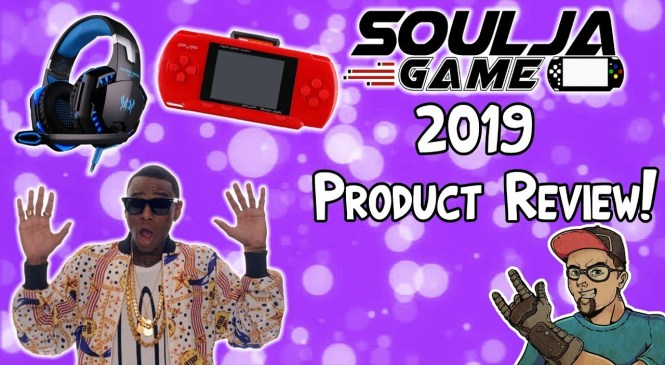 Soulja Boy 2019 Product Reviews! New Handheld & Gaming Headset!