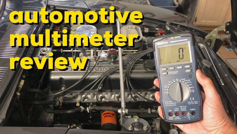 BlueDriver Automotive Multimeter unboxing and review