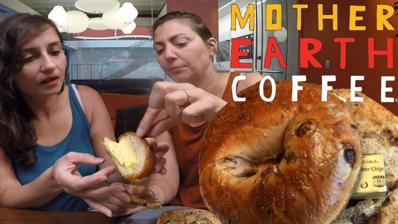 Snack Chat:  Mother Earth Coffee   Food Review