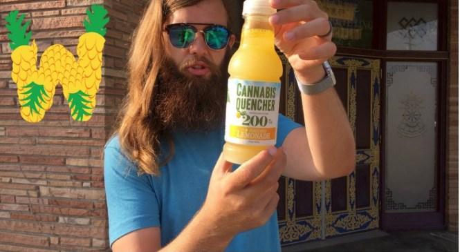 Marijuana Drink Review: Cannabis Quencher Lemonade 200 mg