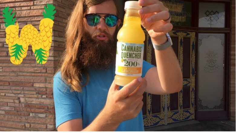 Marijuana Drink Review: Cannabis Quencher Lemonade 200 mg