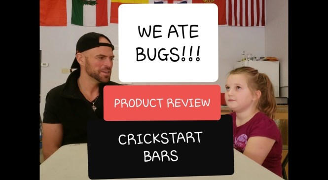 WE ATE BUGS!!! Crickstart Product Review (feat. my Taekwondo students)