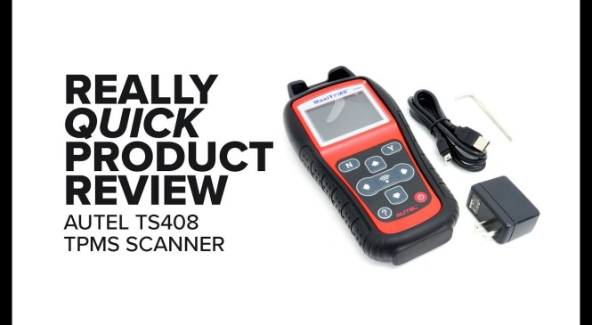 Really Quick Product Review – Tire Pressure Monitoring System Scan Tool – Autel