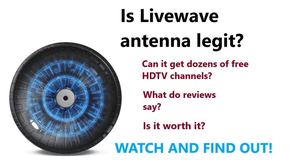 Livewave Antenna Test Deutsch