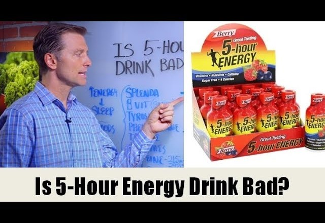 """Is the """"5-Hour Energy"""" Drink Bad for You?"""