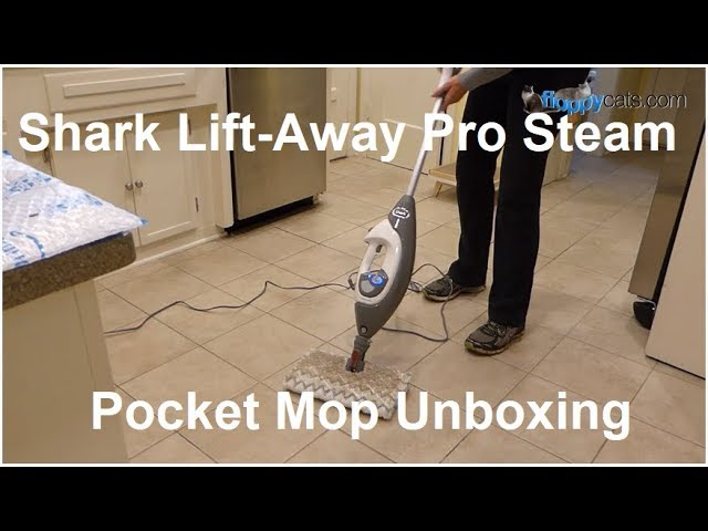 Shark Lift-Away Pro Steam Pocket Mop Product Review Unboxing Arrival Video