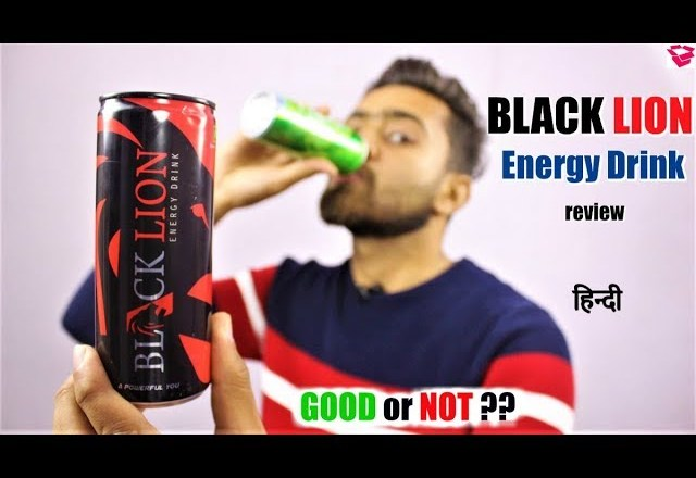 Black Lion Energy Drink review | Energy, Effect, GOOD or Not ? QualityMantra