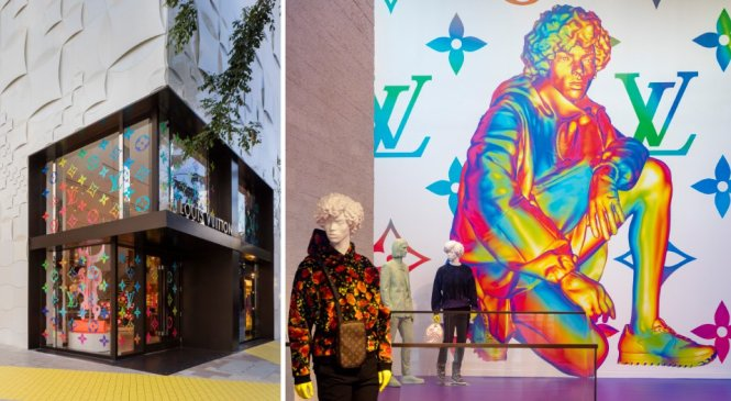 louis vuitton opens pop-up store in miami to celebrate virgil abloh's debut men's collection